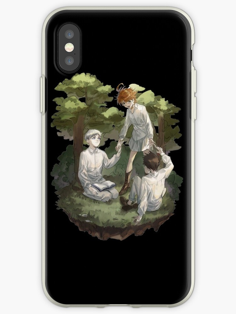 The Promised Neverland Emma Ray Norman Iphone Case By Max Art