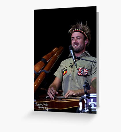 Xavier Rudd Greeting Card
