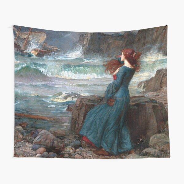 Miranda The Tempest John William Waterhouse Tapestry