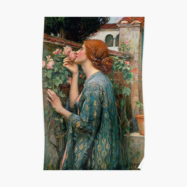 The Soul Of The Rose John William Waterhouse Poster