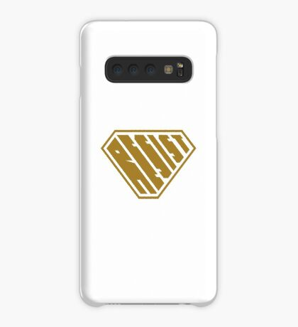 Resist SuperEmpowered (Gold) Case/Skin for Samsung Galaxy