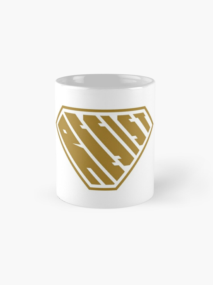 Alternate view of Resist SuperEmpowered (Gold) Classic Mug