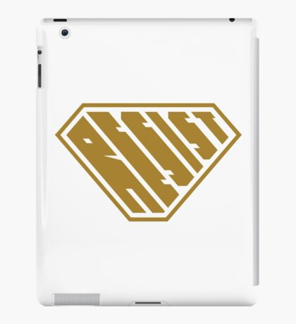 Resist SuperEmpowered (Gold) iPad Case/Skin