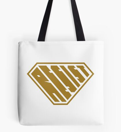 Resist SuperEmpowered (Gold) Tote Bag