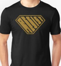 Resist SuperEmpowered (Gold) Slim Fit T-Shirt