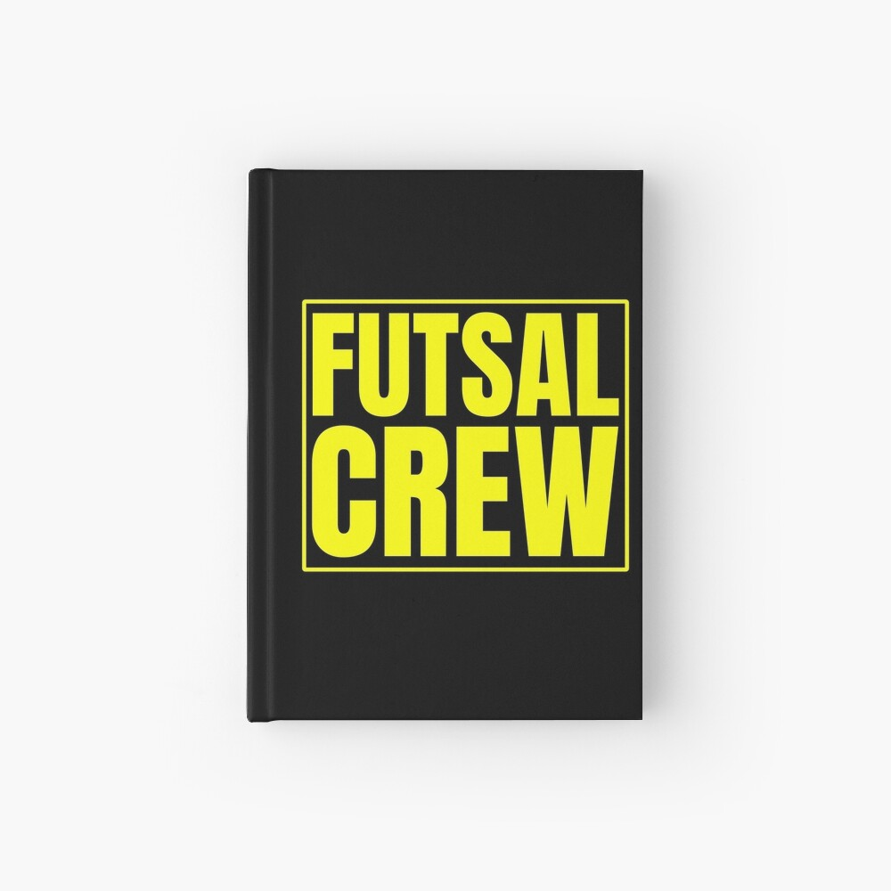 Futsal Crew Notizbuch