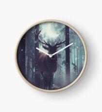 Forest Dweller Clock