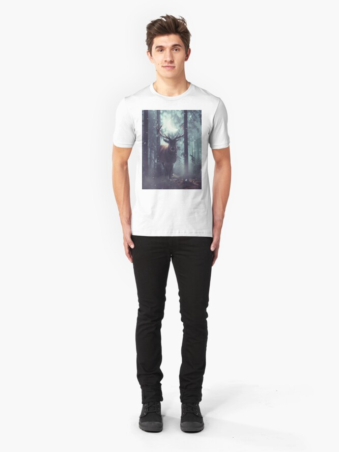 Alternate view of Forest Dweller Slim Fit T-Shirt