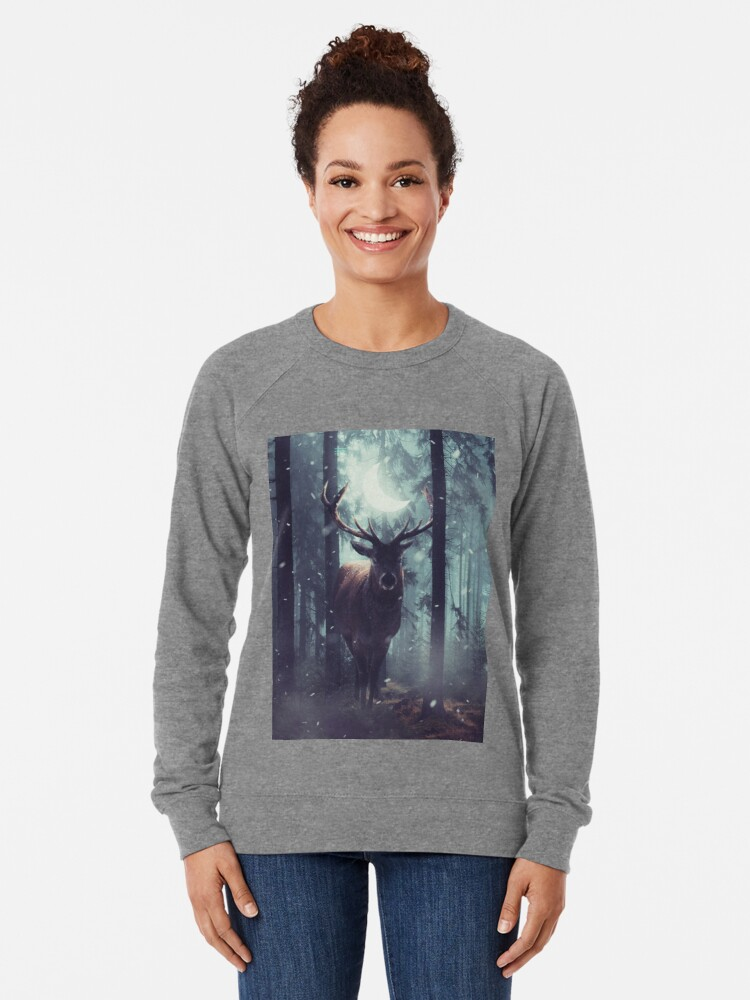 Alternate view of Forest Dweller Lightweight Sweatshirt