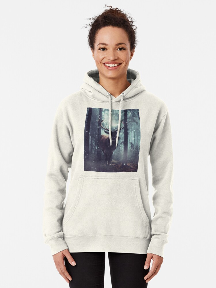 Alternate view of Forest Dweller Pullover Hoodie