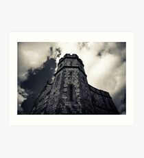 Windsor Castle looking up Art Print