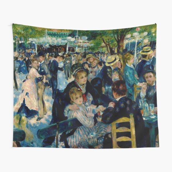 Pierre Auguste Renoir Dance At Le Moulin De La Galette Tapestry