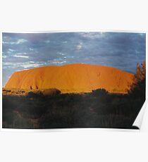 Uluru Sunset Poster