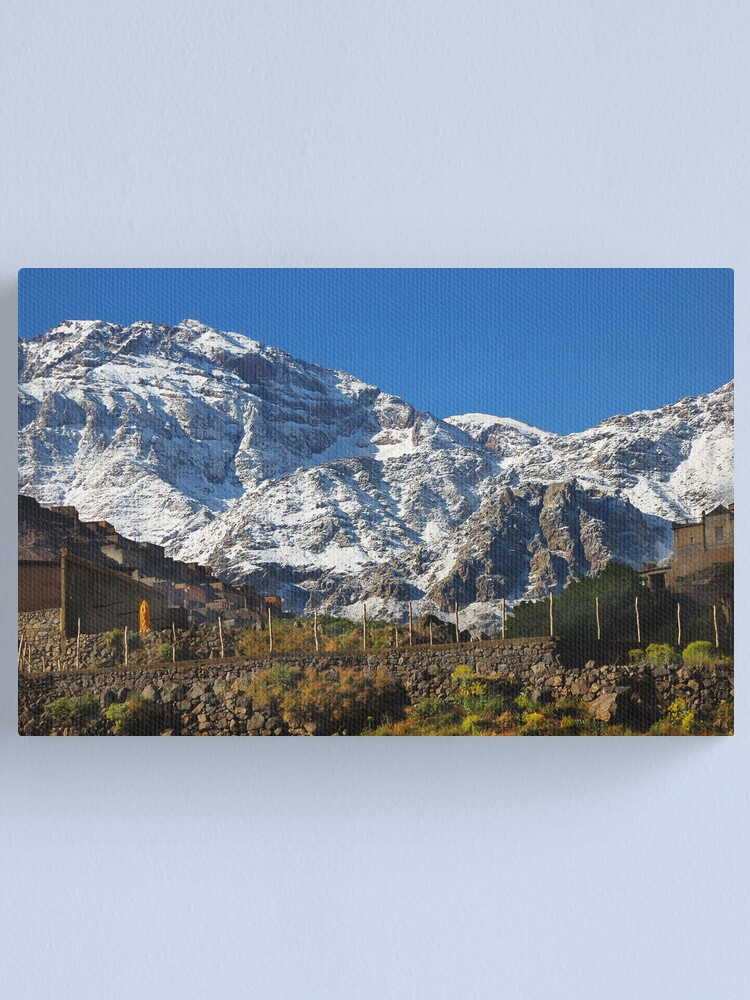 Alternate view of In the High Atlas Canvas Print