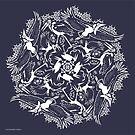 «Cigüeña De Marabú» de PepomintNarwhal