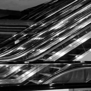 Escalators by lenzart