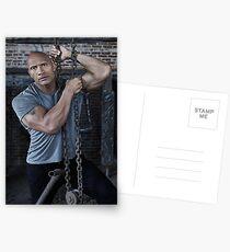 Dwayne 'The Rock' Johnson Postcards