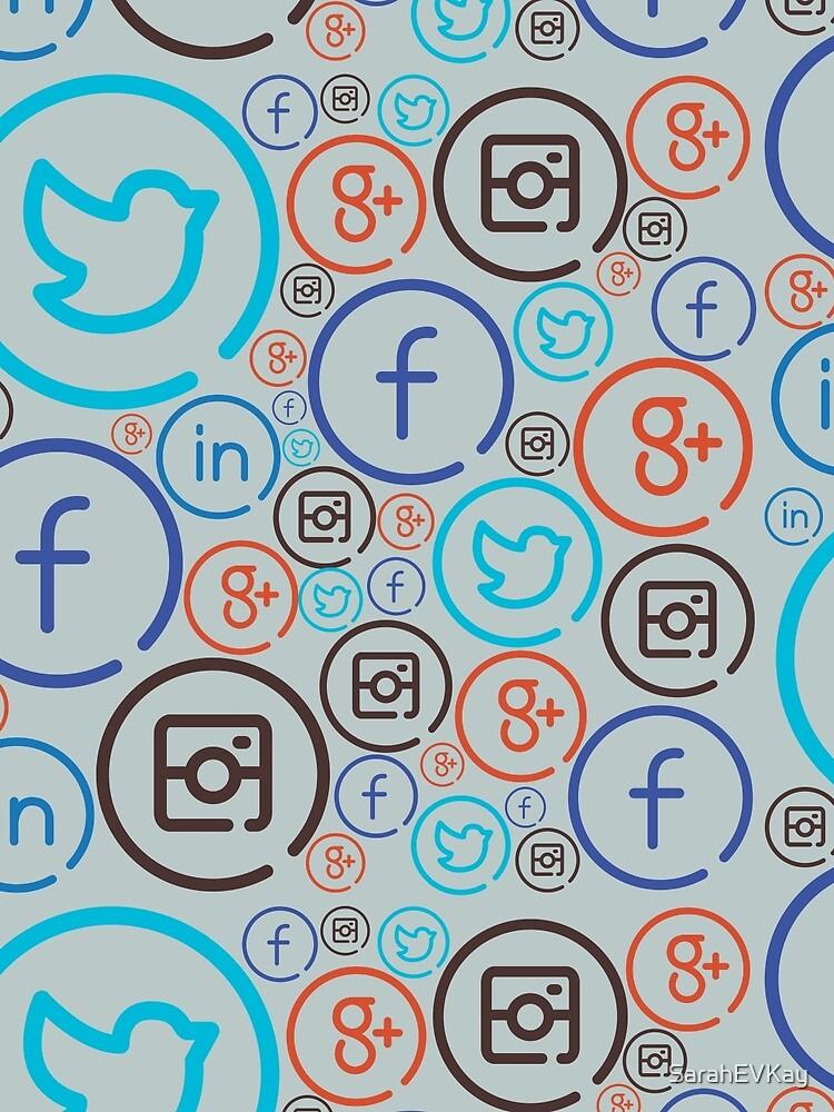 Social Media Crazy by SarahEVKay