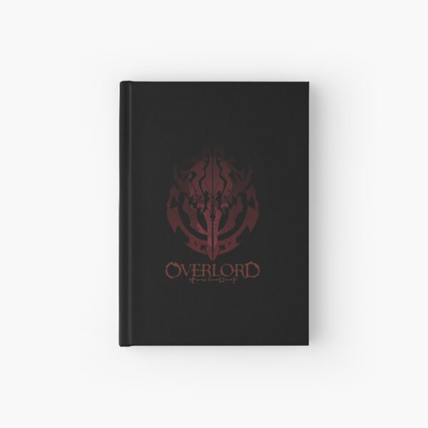 Anime Overlord Ainz Ooal Gown Crest Hardcover Journal