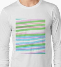#design, #pattern, #abstract, #cotton, #paper, #square, #textile, #decoration Long Sleeve T-Shirt