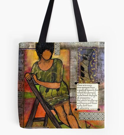 In Every TRUE Woman Tote Bag
