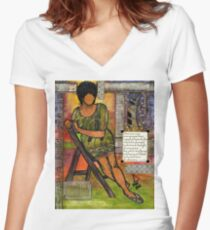 In Every TRUE Woman Women's Fitted V-Neck T-Shirt