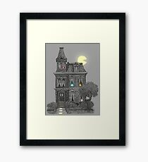Haunted by the 80's  Framed Print
