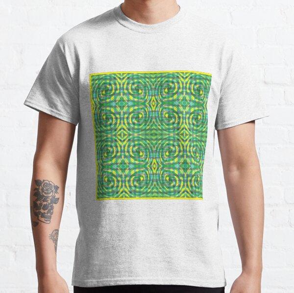 #abstract #pattern #design #decoration art illustration shape ornate Classic T-Shirt