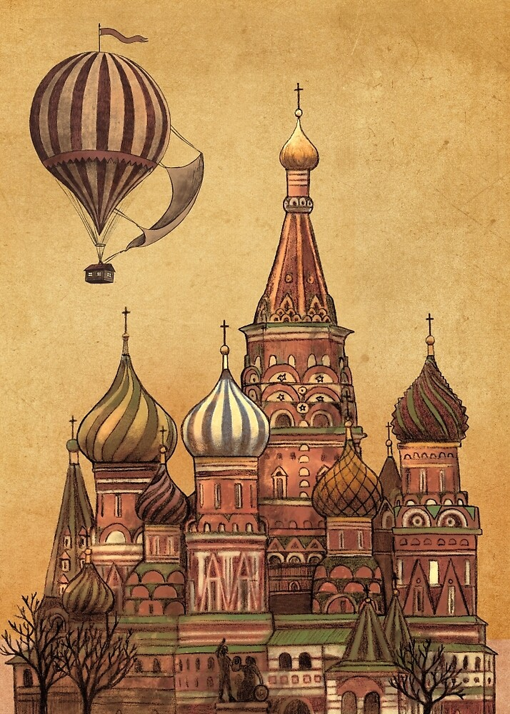 Trip to Moscow  by Terry  Fan