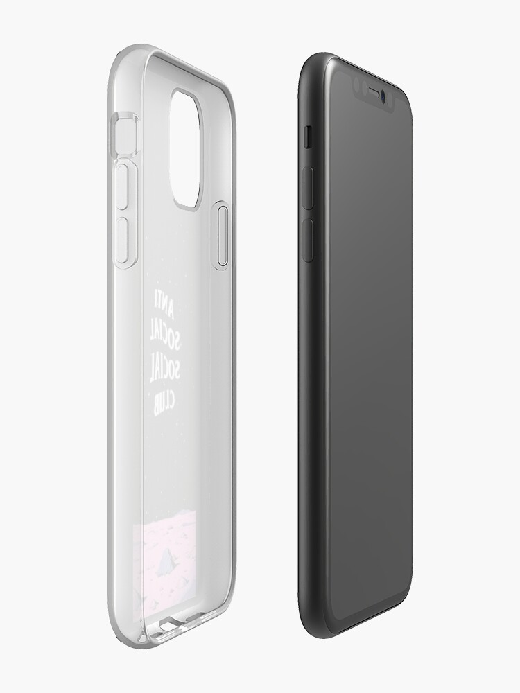 smart battery case pour iphone xs max - Coque iPhone « CLUB SOCAL HYPEBEAST ANTI SOCAL * PRIX BON MARCHÉ * », par Thothunter