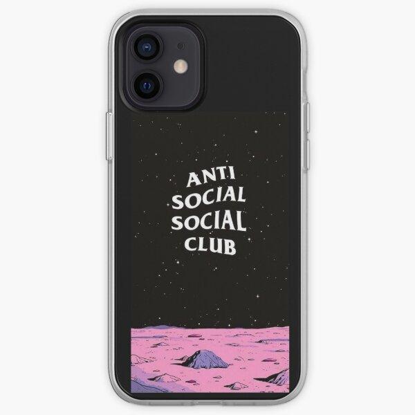 CLUB SOCAL ANTI SOCAL DE HYPEBEAST * PRECIO BARATO * Funda blanda para iPhone