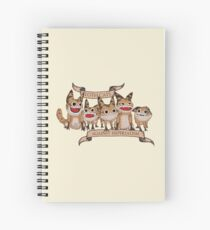 Loth Cats Against Imperialism Spiral Notebook