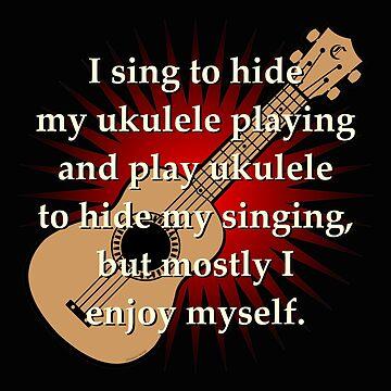Ukulele Playing, Singing, & Hiding by Kowulz