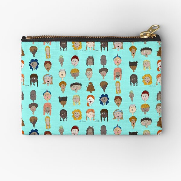 Different People Zipper Pouch