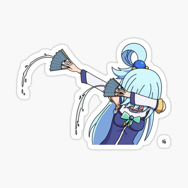 Konosuba Aqua Sticker