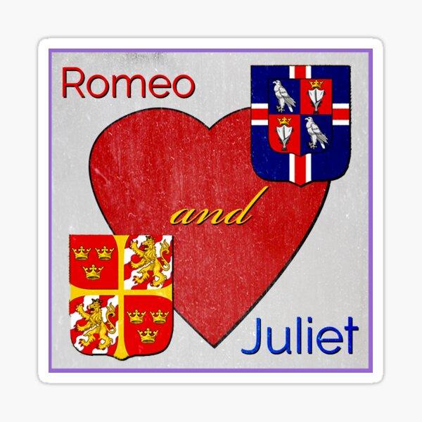 Romeo and Juliet Logo Sticker