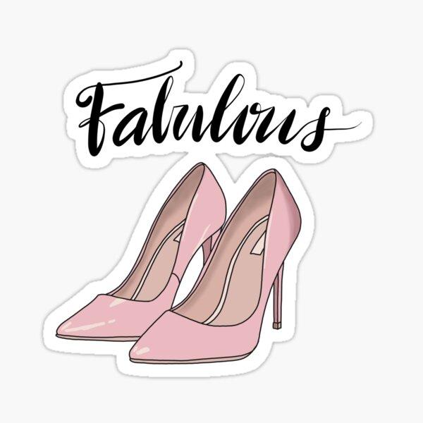 FABULOUS by Silvana Arias Sticker