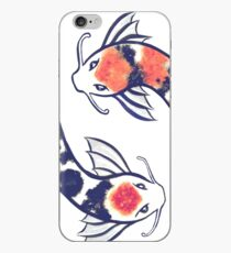 Swirling Koi iPhone Case
