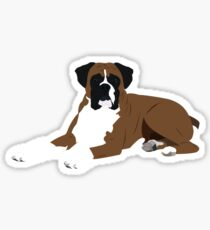 The Boxer Sticker
