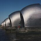 The Thames Barrier, London by wiggyofipswich