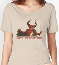 Lord of Darkness - What is light without dark? Women's Relaxed Fit T-Shirt