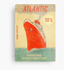 Atlantic Saftey Matches  Metal Print