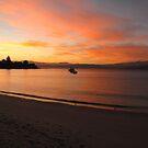 Sunset at Opossum Bay by Kasia  Kotlarska