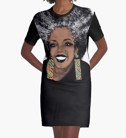 ME- Living Coral  Graphic T-Shirt Dress