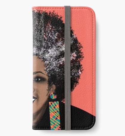 ME- Living Coral  iPhone Wallet