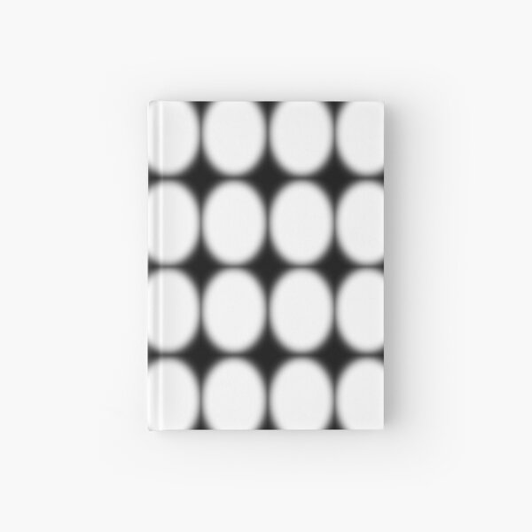 #abstract, #pattern, #design, #illusion, #art, #bright, #square, #shape Hardcover Journal