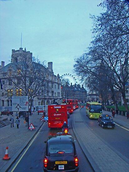 London Icons by Al Bourassa