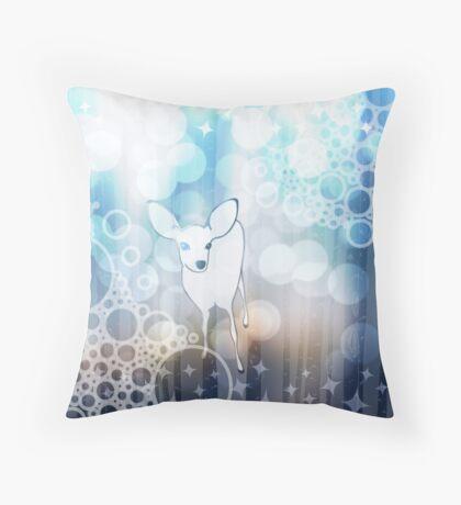 Big Glitter Sparkle Sink Throw Pillow