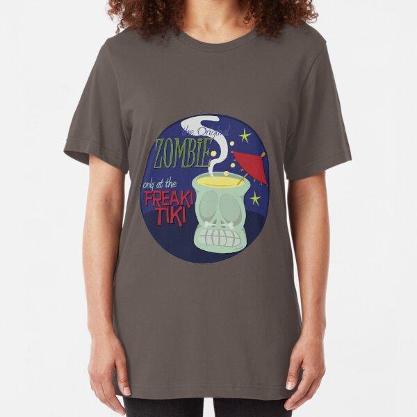 Zombie Mug Slim Fit T-Shirt