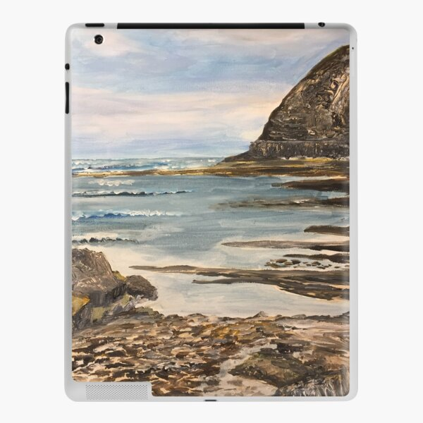The Headland at Staithes on the North Yorkshire Coast iPad Skin
